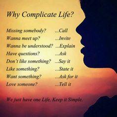 Simple living