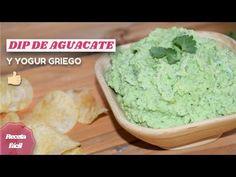 🥑 Dip cremoso de aguacate y yogur griego 🥑 SALSA DE AGUACATE FÁCIL Y SALUDABLE - YouTube