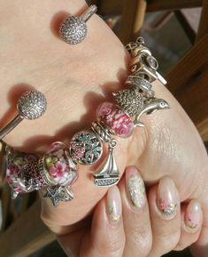 Pandora bangle and moments brancelet for summer