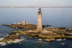 #RealEstate Porn: A #Lighthouse in #BostonHarbor is For Sale