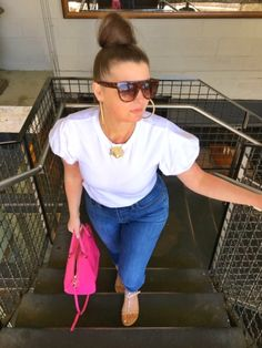 MAXIMIZE YOUR WARDROBE: 14 WAYS TO WEAR HIGH WAIST SKINNY JEANS Chic Outfits, Summer Outfits, Ripped Jeans, Skinny Jeans, Trendy Girl, Distressed Denim, Casual Chic, What To Wear, Plus Size