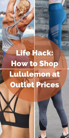 Take your workout to the next level with brand new workout gear from Lululemon! Shop tanks, shorts, and more at up to 80% off. Click the image to download the FREE app now and take advantage of daily deals.