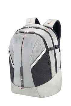 787a718ebb55 Samsonite Laptop Backpack M silver   red