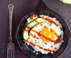5 minutes stand between you and the best sunny-side up egg you've ever had!