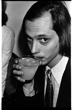 """John Waters, Movie Director of some of the most unique movies ever, including """"Pink Flamingos"""". John Waters, Studio 54, Studio City, I Movie, Movie Stars, Young John, Look Here, Hollywood, Party Photos"""