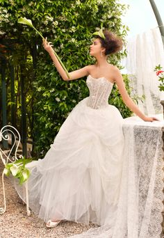 Villa Carlotta - Romantic Bridal Wedding Dress Collection