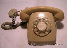 Teléfono HERALDO de sobremesa - CITESA (Málaga) - Con roseta y cable de origen