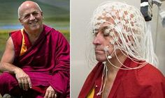 #Monk is happiest because he #meditates alot . #Science backed