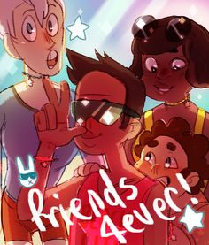 lazerfight:  steven made friendship bracelets for them (which is totally cool)