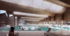 ALN Architecture - Swimming Pool - Chambéry, FR