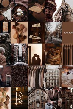 Iphone Wallpaper Tumblr Aesthetic, Black Aesthetic Wallpaper, Aesthetic Backgrounds, Aesthetic Wallpapers, Brown Aesthetic, Aesthetic Colors, Aesthetic Collage, Brown Wallpaper, Iphone Background Wallpaper