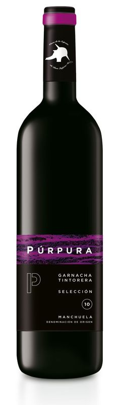 Garnacha Tintorera Selección • D.O. Manchuela. Red Wine Label