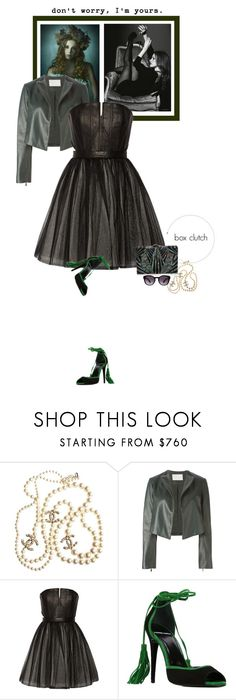 """""""She loved life and it loved her right back..."""" by matilda66 ❤ liked on Polyvore featuring Chanel, Jason Wu, Alice + Olivia, Pierre Hardy, Nathalie Trad, Dolce&Gabbana, women's clothing, women's fashion, women and female"""