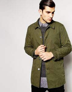 Image 1 of ASOS Trench Coat