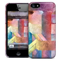 Space Hipster iPhone Case