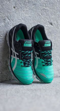 Asics Gel Zaraca 2: Black/Mint