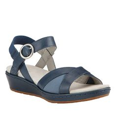 Look what I found on #zulily! Ocean Out And About Leather Sandal #zulilyfinds