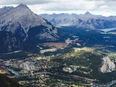 NUMBER 2 AND Driveto Banff.seeing things like Overlooking the town of Banff from the top of Sulphur Mountain Canadian Forest, Canadian Rockies, Sulphur Mountain, Alberta Canada, Banff, Adventure Awaits, Rocky Mountains, Places To Go, Scenery