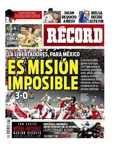 México - RÉCORD 6 de agosto del 2015