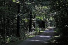 The Huckleberry Trail is seven miles long and connects the towns of Blacksburg and Christiansburg.