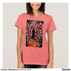 Shop Cosmic Wanderer T-Shirt created by Rhune_Arts. Cosmic, Shirt Style, Your Style, Shirt Designs, T Shirt, Color, Tops, Women, Art