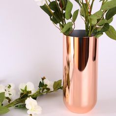 Rose Gold Stainless Steel Vases Home Café Decoration Rose Gold Vase, Gold Vases, Stainless Steel Table, Hotel Decor, Cafe Bar, Mustard, Our Wedding, Bridal Shower, 18th