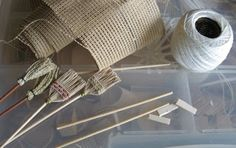 How to Make Miniature Brooms   Source: Casey's Minis