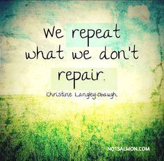 All couples argue. Successful couples repair.   (image via Karen Salmansohn)