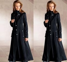 Black Hooded Toggle Coat | Coats, Cas and Gifts