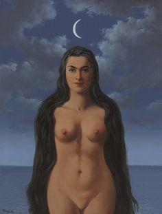'La robe de Galatée' (1961) by René Magritte                                                                                                                                                                                 More