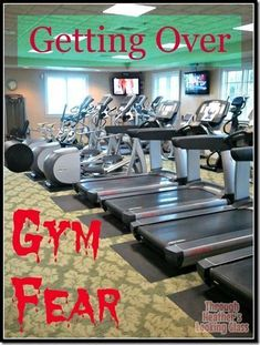 A lot of people have a fear of the gym. It's ok! Check out my tips for how to get over being afraid to workout at the gym in public.