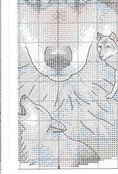Wolves - 9/10 Solo Patrones Punto Cruz (pág. 392) | Aprender manualidades es facilisimo.com