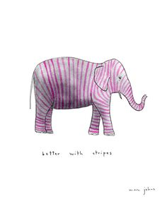 better with stripes ... marc johns
