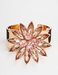 Ted Baker Flower Bloom Cuff Bracelet