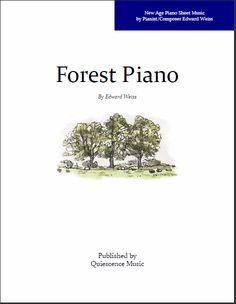 Free Piano Sheet Music in the New Age Style from Edward Weiss