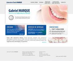 Laboratorio Dental Marque - Sitio Web