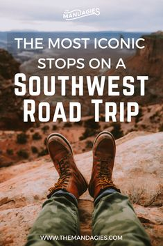 Ready to plan an epic trip through the American southwest? Save this post for 10+ breathtaking locations you need to see in Utah and Arizona. Complete with itinerary, camping tips, and tons of road trip planning resources! #utah #arizona #roadtrip #USA #USAroadtrip #americansouthwest #southwest #camping #desert #grandcanyon #zion #brycecanyon #capitolreef #archesnationalpark #canyonlands #horseshoebend #monumentvalley #antelopecanyon #goblinvalley #mystichotsprings #bonnevillesaltflats…