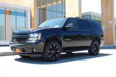 Blacked out Chevy Tahoe