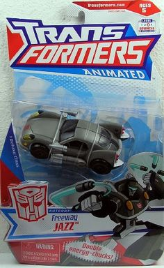 Transformers Animated Deluxe Figure Freeway Jazz * Click on the image for additional details.