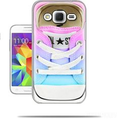 Hoesje All Star Basket shoes rainbow voor Samsung Galaxy Core Prime