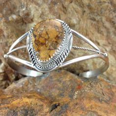 Boulder Turquoise Sterling Silver Bracelet