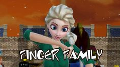 Finger Family Song | Frozen Songs | Kids Songs | Nursery Rhyme for Baby