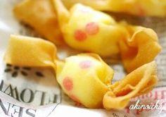 キャンディーみたいな可愛いおつまみが、餃子の皮を使って簡単に作れるって知っていますか?