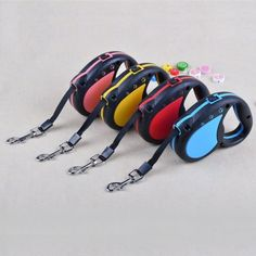 New #flexi retractable dog #leads cord tape neon classic #extending lead 3m ht,  View more on the LINK: http://www.zeppy.io/product/gb/2/322254226454/