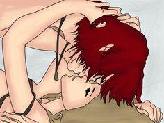 Kastiel x Shiraen again by HayachiTanako.deviantart.com on @deviantART