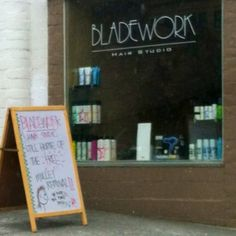 Bladework Hair Studio in Salt Lake City: Still home of the free mullet removal. (ROFLMAO)