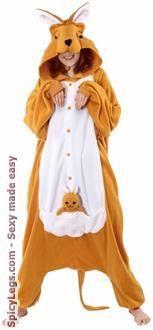 Sexy Costume - Kangaroo Adult Costume