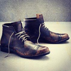Rustic men's boots