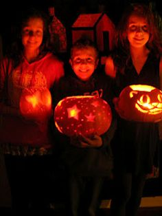 pumpkin light