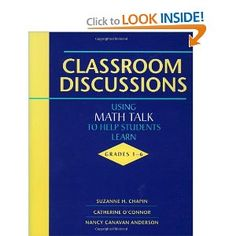 Summer Reading - Classroom Discussions: Using Math Talk to Help Students Learn, Grades 1-6